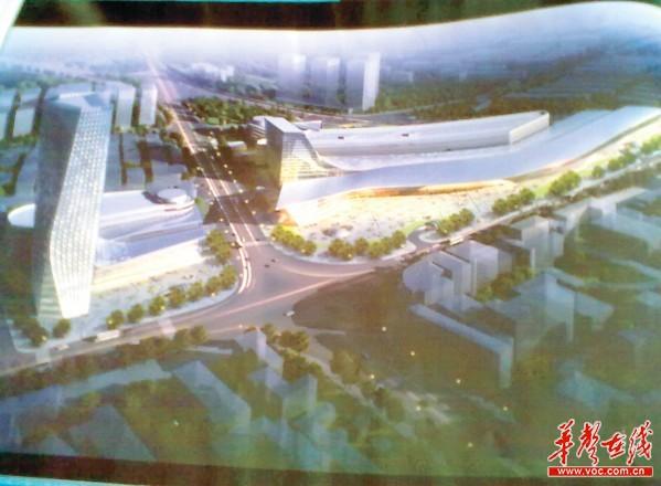长沙汽车南站拟扩建10倍